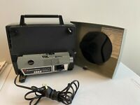 GAF AnscoVision 188Z Zoom Lens Dual 8mm Super 8mm Automatic Projector