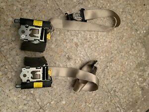 Mercedes c216 cinturónes de seguridad traseras derecha, izquierda