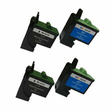 Compatible Ink Cartridge for Lexmark 17/27(2 Black/2 Color) use in 2400I X75