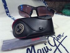 "Maui jim""SUNSET""402-14 GUNMETAL/MAUI ROSE,NEW DISPLAY W/LEATHER CASE,RARE FIND!"
