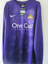 Doncaster Rovers 2012-2013 Squad Signed Goalkeeper Football Shirt COA  /14523