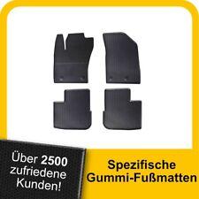 Travall Gummifußmatten Automatten passgenau für Fiat Tipo Fließheck//Turnier 16