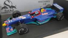 Coches de carreras de automodelismo y aeromodelismo sauber de escala 1:18
