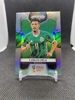 Carlos Vela 2018 Panini Prizm World Cup Silver #129 Mexico LAFC MLS Soccer