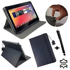 """Auténtico Cuero 100% 10.1"""" comprimido Libro De pie Estuche Cubierta Para Sony Xperia Tablet Z2 S"""