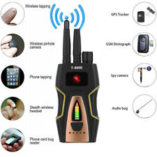 T-8000 RF Signal detector Anti-spy Bug Camera GSM Audio Finder GPS Scan Detector