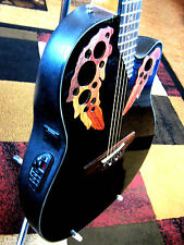"""Nice"" Ovation Applause Elite AE44-5 Cutaway Acoustic Electric Guitar (Reg $599)"