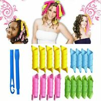 18pcs Magic Curlers Formers Leverage Spiral Hairdressing Tool Hair Rollers DIY