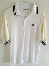 Men Vintage Medium Nike John McEnroe Checker Tag 80s Challenge Tennis Polo Shirt
