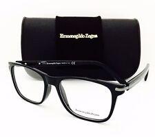 dda63bbdc6b New Ermenegildo Zegna Eyeglasses EZ 5040 001 Black 53•17•145 With Original  Case