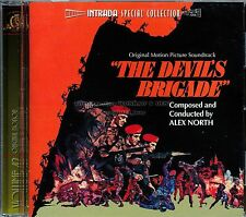 "Alex North ""THE DEVIL'S BRIGADE"" score Intrada 2000 Ltd CD sold out SEALED"