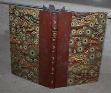 Gavarni / Masques et visages (relié avec couverture conservée) 1860
