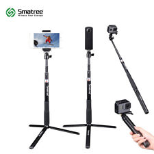 Smatree Selfie Stick with Tripod Stand for GoPro Hero 8/7/6/5/4/3/Session Camrea