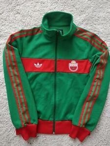 Adidas Originals Maroc Womens Track Top Jacket Sweatshirt Marocco Green Red Hype