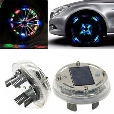 1x 4 Modes 12 LED RGB Car Auto Solar Energy Flash Wheel Tire Light Lamp Decor