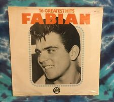 Fabian LP 16 Greatest Hits STILL FACTORY SEALED Trip TOP-16-20
