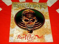 IRON MAIDEN Fear Of The Dark 1992 JAPAN TOUR BOOK/Program CONCERT TOURBOOK LIVE