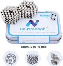 222 Pcs 5mm Magnetic Fidget Balls, Stress Relief Toys, Office Gadgets Desk Toy