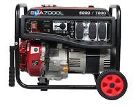 A-iPower 6000/7000 Watt Portable Generator 140lbs SUA7000L