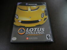 ***LOTUS CHALLENGE NINTENDO GAMECUBE GAME W/ CASE***