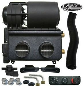 Vintage Air Gen II Universal 12 Volt Electric Heater w/ Defrost & 3 Knob Control