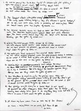 BOB DYLAN REPRO 1965 - GATES OF EDEN - HANDWRITTEN LYRICS