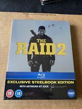 The Raid 2 (2014) Blu Ray Limited Edition Steelbook - New & Sealed