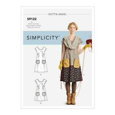 Simplicity 9122 aka 1080 Sewing Pattern Misses 6-24 Dottie Angel Loose Top Tunic