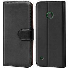 Schutz Hülle Für Nokia Lumia 530 Handy Klapp Schutz Tasche Book Slim Flip Case