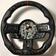 2015-2016- 2017- FORD MUSTANG - FORGED CARBON FIBER STEERING WHEEL -