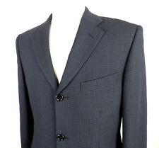 Balmain Navy and Black Pure Wool Mens Designer Jacket  Size 38S Classic