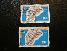 NOUVELLE CALEDONIE timbre yt n° 361 x2 obl (A4) stamp new caledonia (A)
