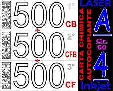 CARTA CHIMICA 3 COPIE RICEVUTE FISCALI X STAMPANTI LASER INKJET A4 BIANCA