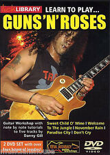 LICK LIBRARY Learn to Play GUNS N ROSES Sweet Child O Mind Rock GUITAR DVD