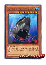 YUGIOH x 3 Ancient Shark Hyper Megalodon - Rare - CBLZ-JP012 JAPANESE Japanese M