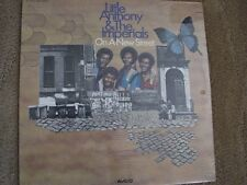 Little Anthony & the Imperials-On A New Street LP vinyl orig 1973 press SEALED