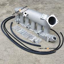 Aluminum Intake Manifold Plenum FOR Nissan 240SX RB25det RB25 Skyline R32 R33