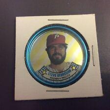 1988 Topps Metal Coin #34 Steve Bedrosian Philadelphia Phillies Baseball Card