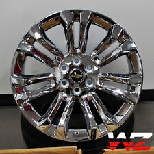 "22"" CK159 Style Chrome Wheels Rims Fits Chevy GMC Tahoe Yukon Suburban Denali"