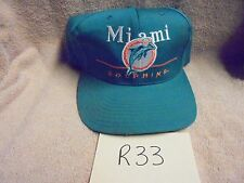 Vintage Miami Dolphins Snap Back Hat Eastport Team NFL Football
