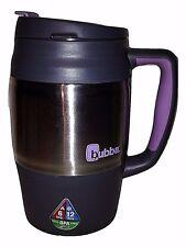 Bubba 34oz Mug Keg 1L Grey Purple Lid Insulated Hot Cold BPA Free Travel Coffee