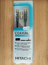 CABLE COAXIAL 2MT HITACHI, A ESTRENAR