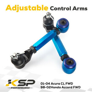 Fit Acura TL 2004-2008 Adjustable Rear Upper Alignment Camber Control Arm Kits