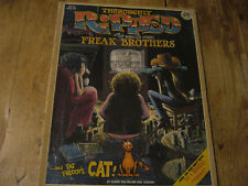 Fabulous Furry Freak Brothers - 1978 Thoroughly Ripped comic book - Shelton
