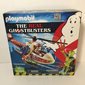 The Real Ghostbusters #9385 Peter Venkman & Chopper Set Playmobil 2018 New
