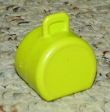 Vintage - Fisher Price Little People - Town, City - Luggage / Suitcase - Lime