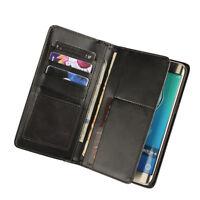 Luxury Vintage Senior Leather Multfunction Wallet For Samsung Galaxy S6 Edge