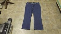 Riders 5 Pocket Bootcut Cotton Stretch Jeans 40X30 Women Plus 18W #4184