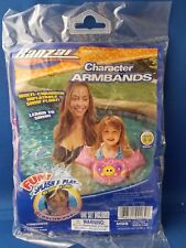 Kids BUTTERFLY Multi-Chamber Inflatable Learn to Swim Armband Float Ages 3-5