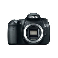 Canon EOS 60D 18.0 MP Digital DSLR Camera Black Body Only